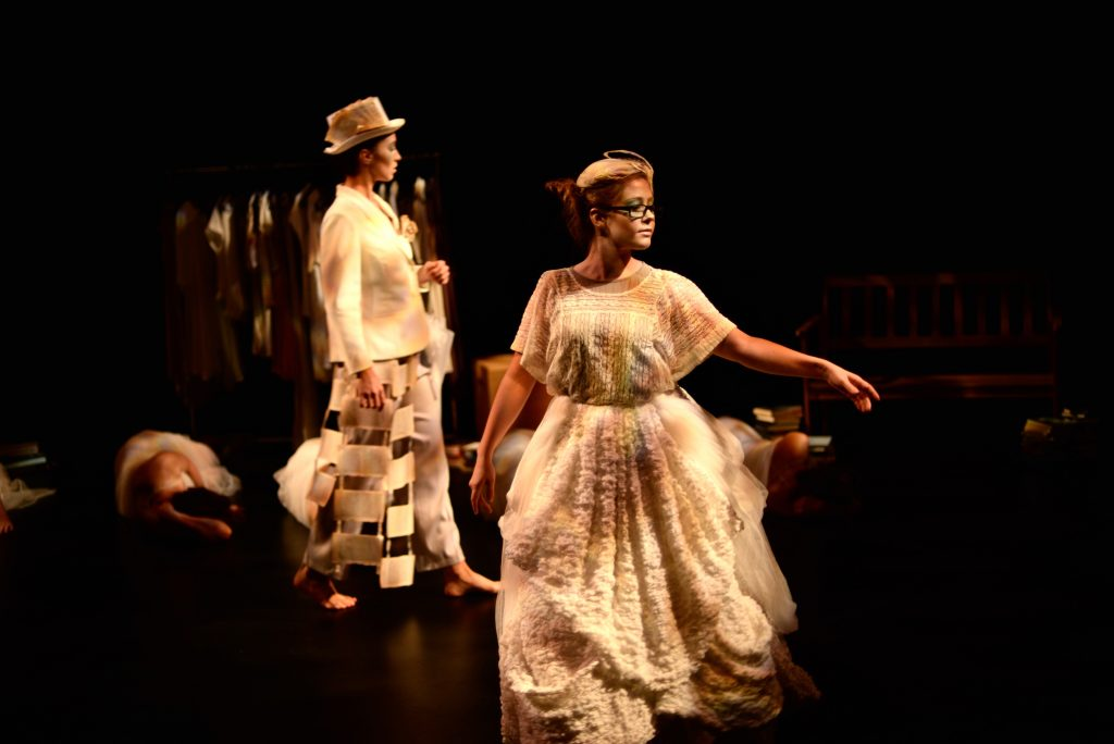 """Cumulonimbus and the Fable Keepers"" choreography & costumes by Susan Kendal for Simcoe Contemporary Dancers, 2015"